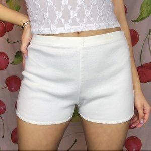 Y2K, Textured Trim Shorts